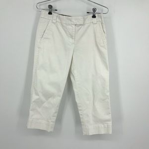 Women's J. Crew Favorite Fit Stretch Capri Pants.